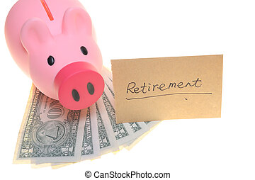 Piggy bank for retirement