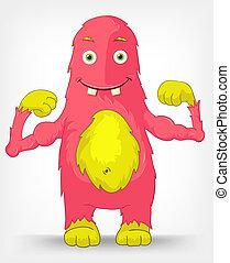 Funny Monster. Diet.