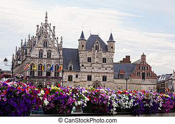 City town hall in Mechelen (Malines), Belgium
