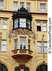 Bay window - Prague