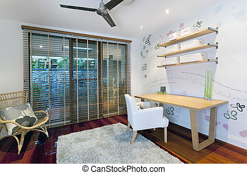 Small room in stylish home