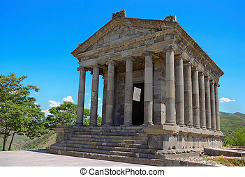 Garni temple - Ancient Garni temple complex Armenia