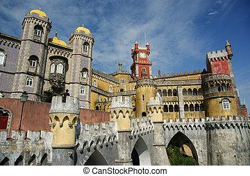 Sintra - Pena castle in Sintra, Portugal