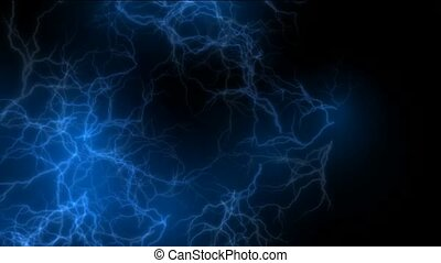 blue lightning,magnetic field,Negative oxygen ions