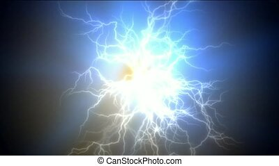 lightning magnetic field.