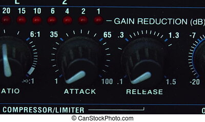 Compressor, Limiter, Audio equipment