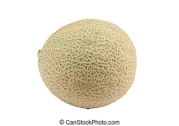 Cantaloupe melon - Sweet cantaloupe melon isolated on the...