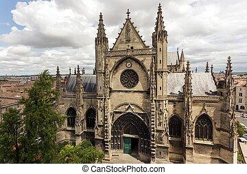 Bordeaux Saint Michel cathedral