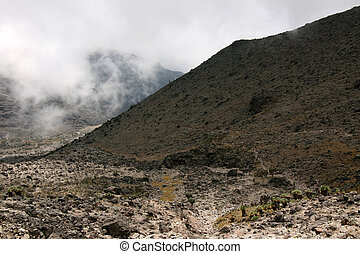 Mt Kilimanjaro, Tanzania, Africa - Rugged Landscape at Mt...