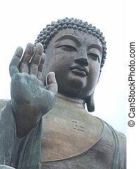 HongKong buddha - The large Buddha of Hongkong
