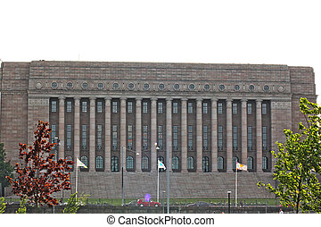 Parlament of Finland, in the capital, Helsinki