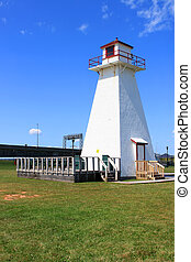 P.E.I. lighthouse at Borden