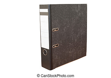 loose-leaf binder - The image of loose-leaf binder isolated...