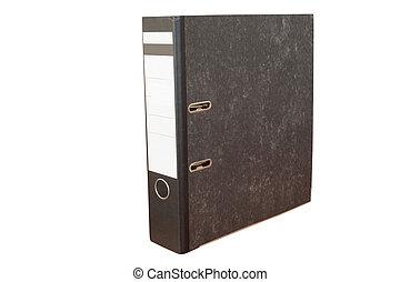 loose-leaf binder - The image of loose-leaf binder isolated...