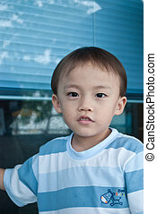 asian boy - portraut of asian boy out door activity