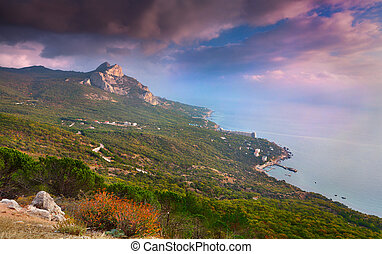 Cape St. Elias. Crimea