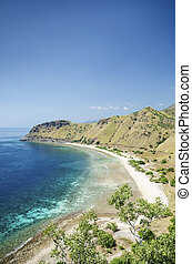 beach near dili east timor, timor leste - fatucama beach...