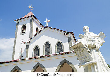 church in dili east timor, timor leste