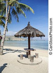 areia branca beach near dili east timor, timor leste