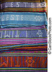 tais traditional fabric in dili east timor, timor leste