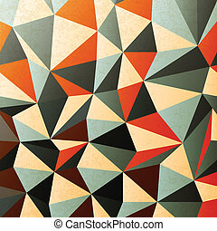Diamond shaped pattern. Abstract, vector, EPS10