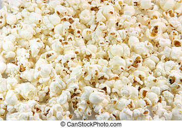 popcorn background - pop corn closeup for background use...