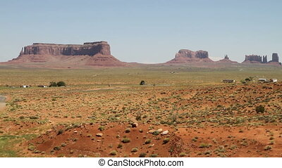 Monument valley static view from founder point