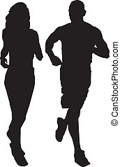 running couple made in eps