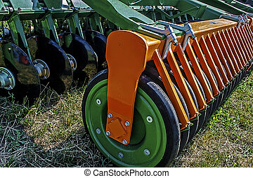 Agricultural equipment. Details 70 - Equipment for...