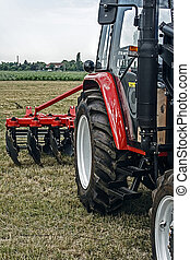 Agricultural equipment. Details 75 - Equipment for...