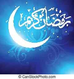 vector ramadan kareem - ramadan kareem muslim vector...