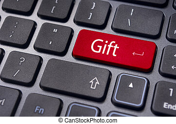 gift concepts or buying a gift