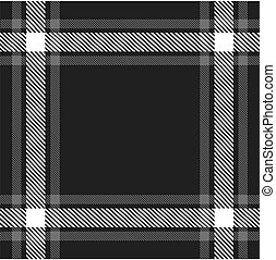 Black and white vintage seamless pattern