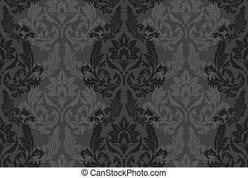 Seamless vintage background - Vector background for textile...