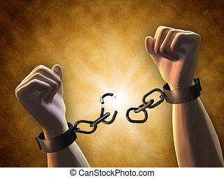 rupture, chaînes