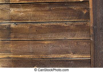 Dark rustic western wood plank texture - a barn wood western...