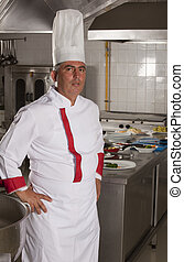 chef - Portrait of smart chef