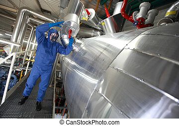 Technician fixing problem - Technician in...