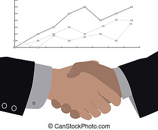 shaking hands - making a deal