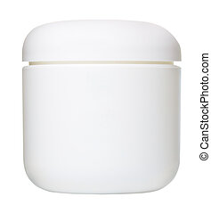 Cosmetic Container - jar for cosmetic cream, gel or powder,...