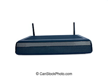 Internet Router - Isolated internet router used for...