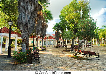 Frederiksted, St. Croix Plaza