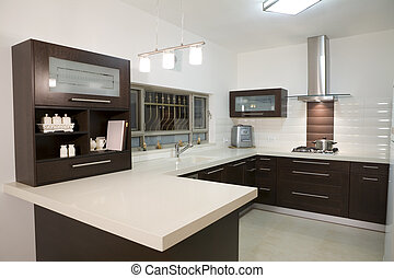 Kitchen luxury design - dinner room modern design luxury...