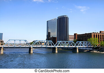 Downtown Grand Rapids - Beautiful Downtown Grand Rapids in...