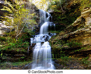 Water falls in West Virginia - Beautiful Cascade water falls...