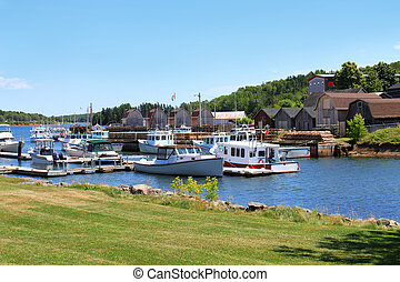 Montague harbour, P.E.I