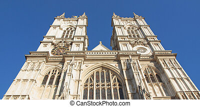 Westminster Abbey - The Westminster Abbey church in London...
