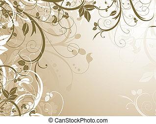 Floral chaos - Decorative floral design