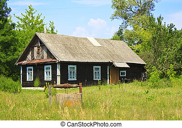A typical village house in the countryside