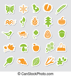 nature stickers